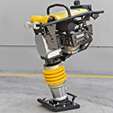 STKUSA Impact Rammer 6.5HP Jumping Jack Tamper Gasoline Engine Recoil Starter