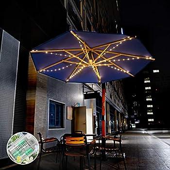 Dbfairy Patio Umbrella Lights Market Umbrella String