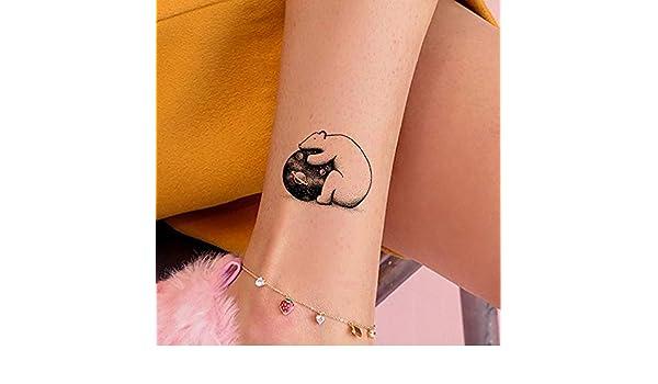tzxdbh 6 Pirce Dibujos Animados Lindo Oso Polar Tatuajes ...