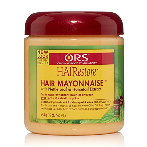 Ors Hair Mayonnaise Treatment 16oz Jar (6 Pack)