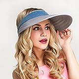 Hats Hat/Sun Visor/Large Beach Hat/Sun Protection Sports Cap Female Summer/UV/Outdoor Sun