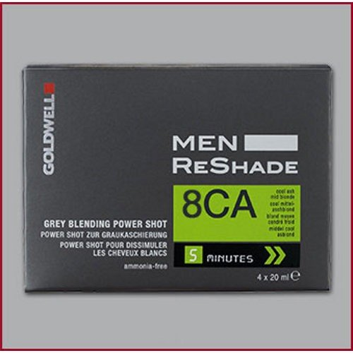Goldwell for Men ReShade Grey Blending Power Shot 8CA Cool Ash Light Blonde