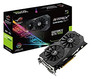 ASUS STRIX-GTX1050-2G-GAMING - Tarjeta gráfica (NVIDIA, GeForce GTX 1050, 2GB GDDR5, 7680 x 4320 Pixeles, 1354 MHz, 1455 MHz) color negro