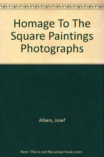 Albers homage to the square: 40 new paintings