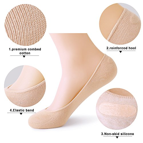 No Show Socks Women No Show Liner Socks Womens No Show Socks Thin Low Cut Casual Socks Non Slip