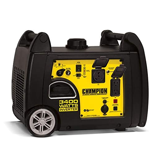 Champion Power Equipment 100233 3400W Inverter Generator w Parallel Capability
