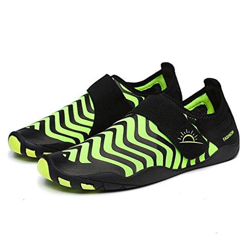 Antideslizante Yoga Zapatos Zapatos Zapatos Deportivos Tela Altamente De De Verde Aptitud Aire Libre Portátil Elástica Buceo Bucear Natación Zapatos Masculino Goma Al Mojadura Playa De fY7rgxYq