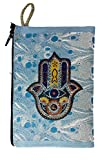 Icon Case Pouch Coin Purses Tapestry Prayer With Jewish Hamsa Evil Eye Protection 5.7''