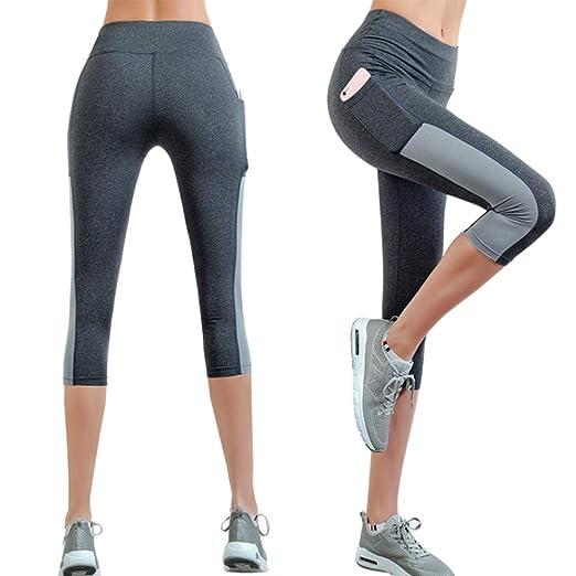 YXYBABA Pantalones de Yoga Mujeres Caderas de Cintura Alta ...