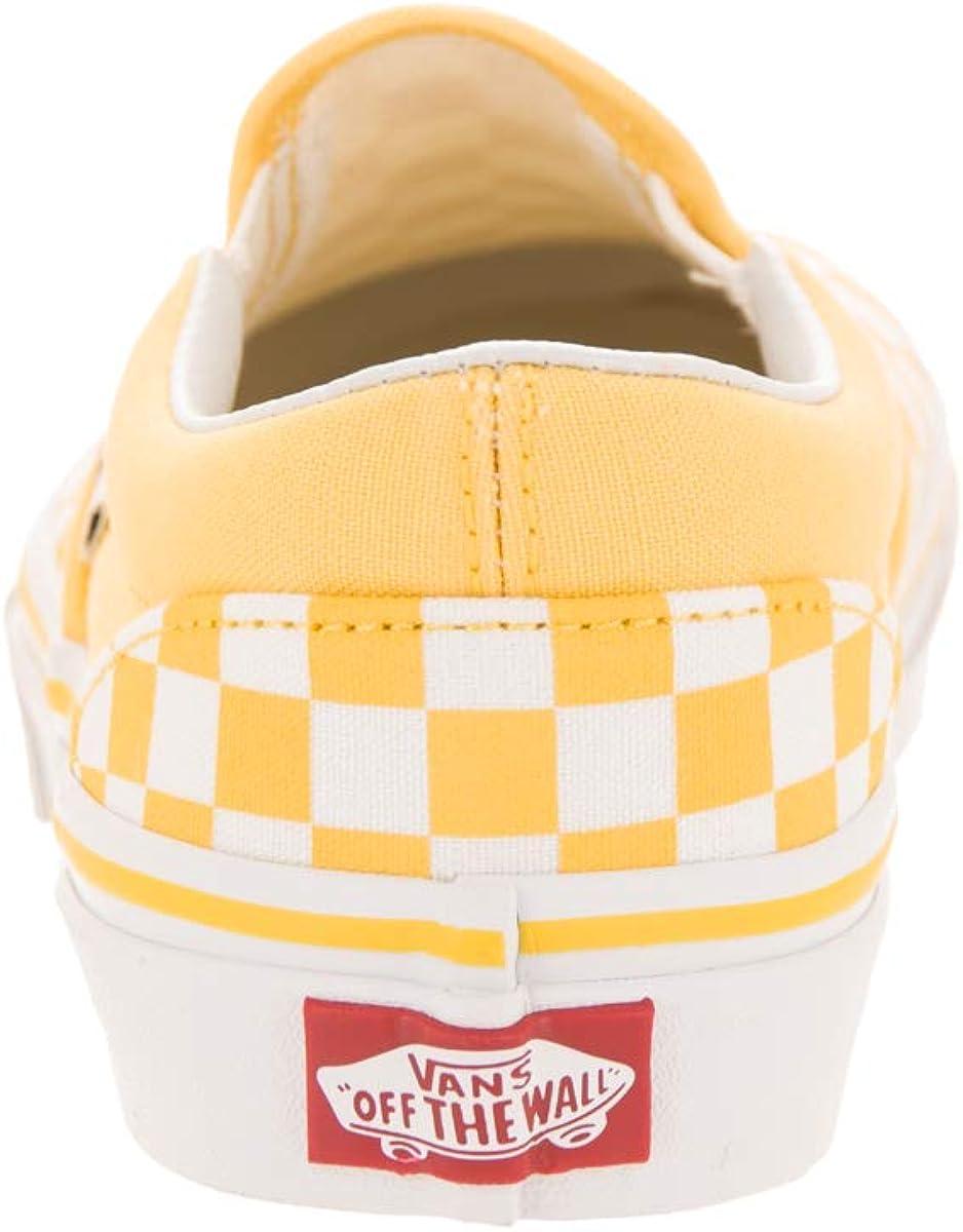 Vans Kids Classic Slip-on, Baskets Mode Mixte Bébé Jaune
