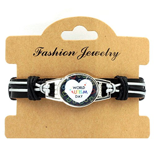 Sykdybz 100% Hand Woven Leather Autistic Bracelet, Four Quarter Wreath Bracelet,One