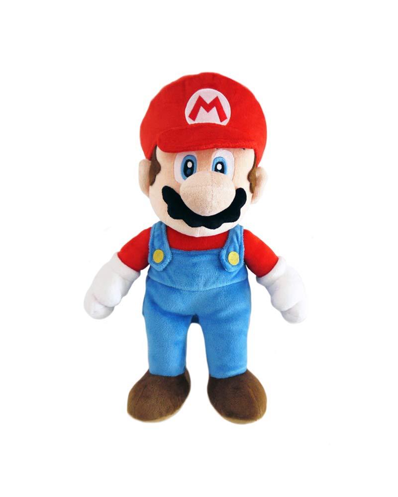 """Little Buddy Super Mario All Star Collection 1414 Mario Stuffed Plush, Multicolored,9.5"""""""