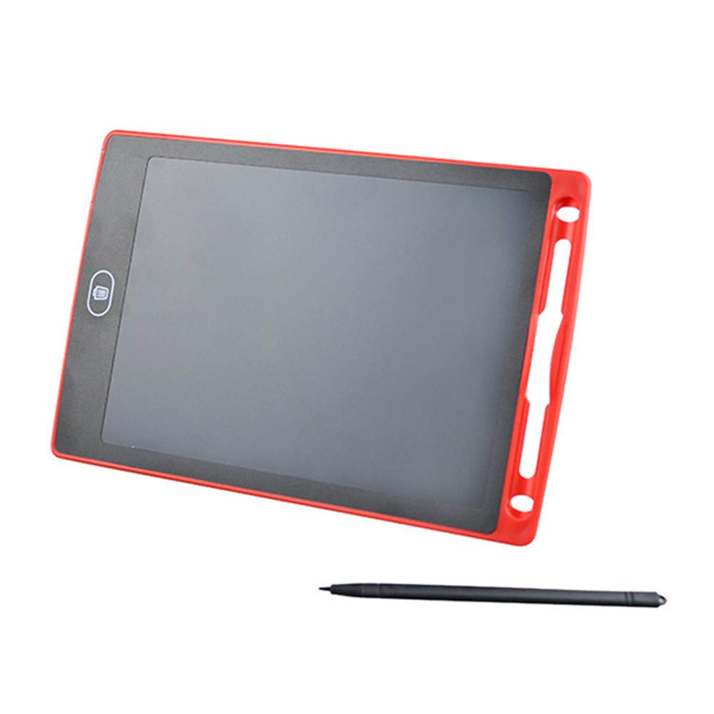 8.5 inch Smart Writing Pad, Teetox Liquid Crystal Drawing Board Children's Learning Board Electronic Graffiti Board, The For Children (Red)