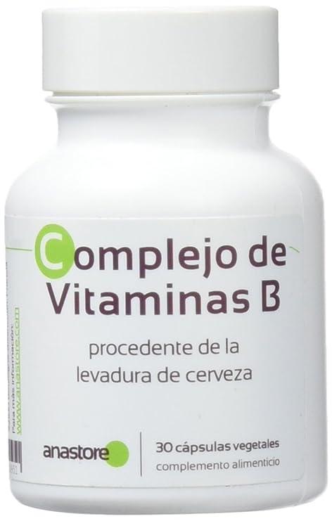 Anastore Complejo de Vitaminas B 500 mg - 30 Cápsulas