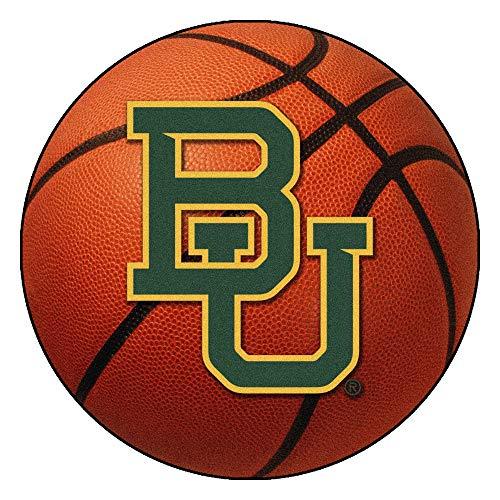 FANMATS NCAA Baylor University Bears Nylon Face Basketball Rug