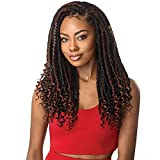 Outre Crochet Braid 30 Strands Straight Bahama Locs 18' (2 Pack, OM30)