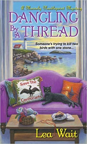 Dangling by a Thread (Mainely Needlepoint Mystery) (Mainely Needlepoint Mysteries)