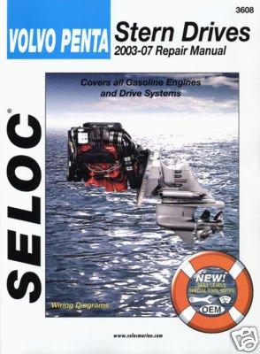 Volvo Penta Manuals - Seloc Volvo Penta Stern Drive Series 2003-2007