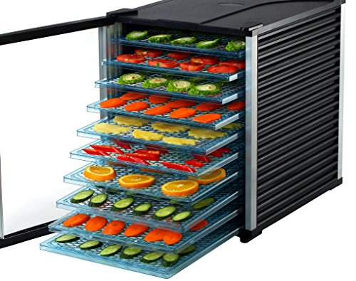 Oliver and Smith - Professional Series - 10 Tray Digital Food Dehydrator - Digital - 15 Square Feet Total Drying Space - 630 Watt - 3 Year Warranty