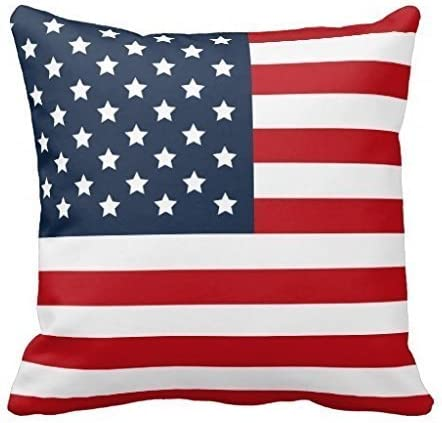 Amazon Com Crystal Emotion Vintage Usa American Flag Pillowcase Pillow Cushion Case Cover Twin Sides Retro Star Stripe American Patriotic Polyester Zippered Pillowcases 26x26inch Two Sides Home Kitchen