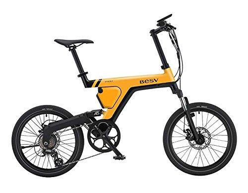 BESV(ベスビー) PSA1(PSA1) 電動アシスト自転車 2018年モデル YTRT06 (イエロー) B07DLPH4BD