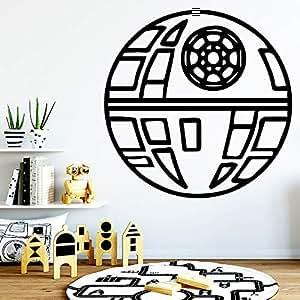 Pegatinas de pared de bola estéreo desmontable, habitación ...