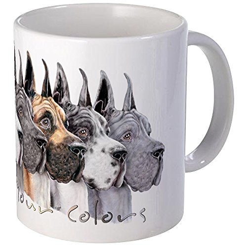 CafePress Great Dane Group Show Colors Mug Unique Coffee Mug, Coffee Cup