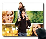 Custom Gaming Mouse Pad with definitely maybe ryan reynolds isla fisher abigail breslin elizabeth banks actors people Non-Slip Neoprene Rubber Standard Size 9 Inch(220mm) X 7 Inch(180mm) X 1/8 Inch(3mm) Desktop Mousepad Laptop Mousepads Comfortable Computer Mouse Mat