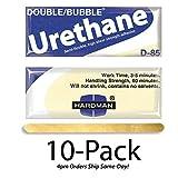 Hardman/Kalex #04023 - Double Bubble Urethane Adhesive Blue/Beige-Label D85 High Shear Strength - 10-Pack