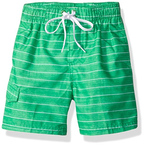 Kanu Surf Toddler Boys' Line Up Quick Dry Beach Swim Trunk, Green, 2T Boys Swim Trunks Bathing Suit