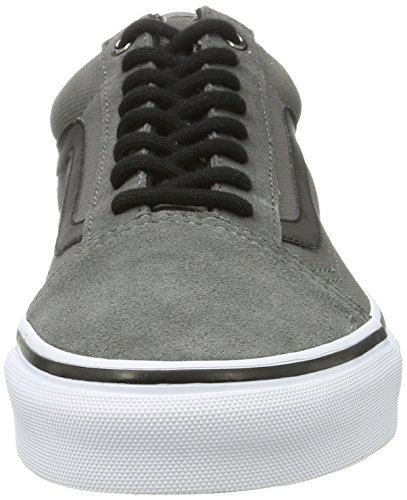Shoe Old Pewter Vans Skateboarding Ankle Skool Canvas High 10dZqYw