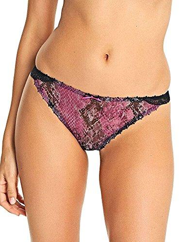 Freya Women's Rebel Brazilian, Sour Cherry, XL - Freya Mesh Panties