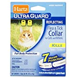 Hartz Ultra Guard Reflecting Flea & Tick Cat Collar 1 Each (Pack of 12)