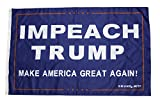 "Cheap Drumpf.WTF ""Impeach Trump, Make America Great Again!"" Anti-Trump, Pro-America 3′ x 5′ Resistance Flag"