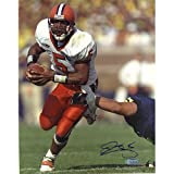 Steiner Sports NFL Donovan McNabb Syracuse Eluding Tackle Autographed 8-by-10-Inch Photograph
