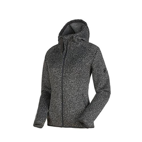 Mammut chamuera ml Hooded Jacket Women–Chaqueta de forro polar gris claro