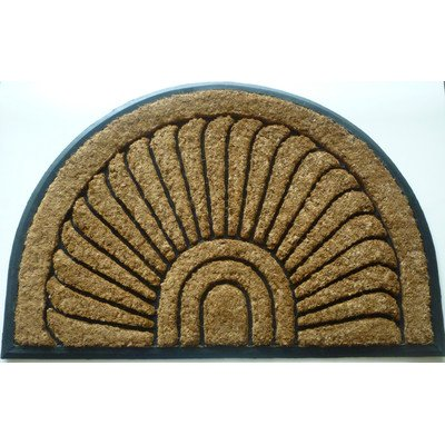 Geo Crafts G237 Sundance 24 by 36-Inch Coco Rubber Doormat, -