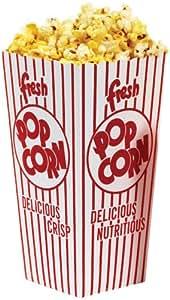 Amazon.com: Popcorn Large Scoop Box (100 Per Case): Sports & Outdoors