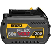 DEWALT DCB606 20/60V MAX FLEXVOLT 6.0 Ah Battery Pack (Renewed)