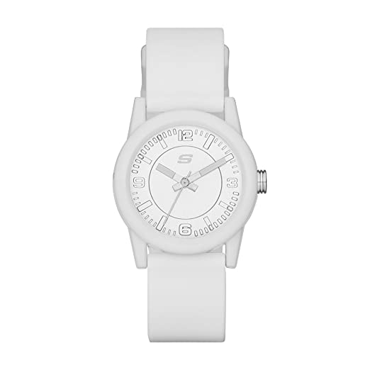 d20d77cfb4f4 Skechers SR6029 Reloj Análogo para Mujer Extensible de Silicon ...