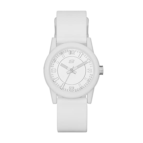 8524dad8a61 Buy Skechers Analog White Dial Women s Watch-SR6029 Online at Low Prices in  India - Amazon.in