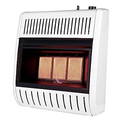 REMINGTON REM-R180NM-F 18K-3 Plaque NG Heater, White