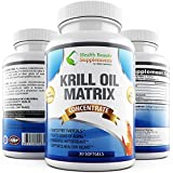 * DEEP SEA KRILL OIL * Ultra Advanced Formula Rich In Omega 3 – Proven Supplement With EPA DHA – Phospholipids – Astaxanthin – Anti Aging – Heart Health – Joint Health & More