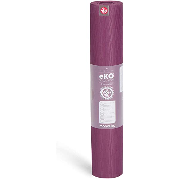 Manduka EKO Esterilla de Yoga Midnight: Amazon.es: Deportes ...