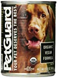 Pet Guard Organic Vegeterian Adult Dog Food, 12.7-Ounce Cans (Pack of 6)