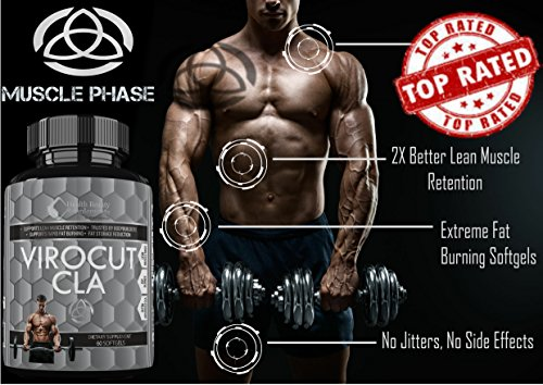 VIROCUT-EXTREME-CLA-Best-Cla-Safflower-Oil-For-Weight-Loss-And-Belly-Fat-Fast-Acting-Weight-Loss-Pills-For-Men-Women--Slams-Any-cla-1250--Cla-3000-cla-1250-cla-tonalin-cla-carnitine