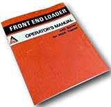 Allis Chalmers 430 Series Front End Loader Operators Owners Manual 5020 Tractor
