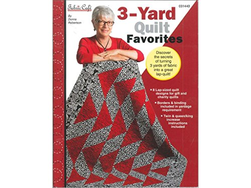Fabric Cafe 3 Yard Quilt Favorites Bk Three Yard Back by Fabric Cafe