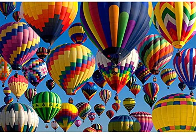 Vorspack Jigsaw Puzzle - Hot Air Balloons 1000 Pieces for Adults