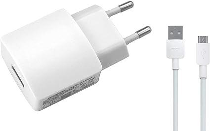 Chargeur pour Huawei HW 050200E01 d'origine 2 A Blanc